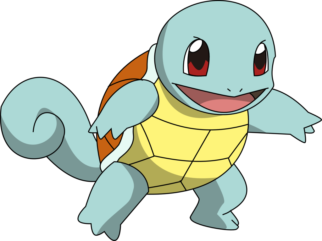 Its name was changed from zenigame to squirtle during the for Immagini bulbasaur