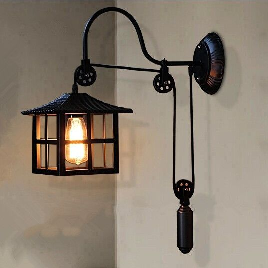 pas cher vintage pendentif lumi re american style industriel lampes edison plaqu fer abat jour. Black Bedroom Furniture Sets. Home Design Ideas