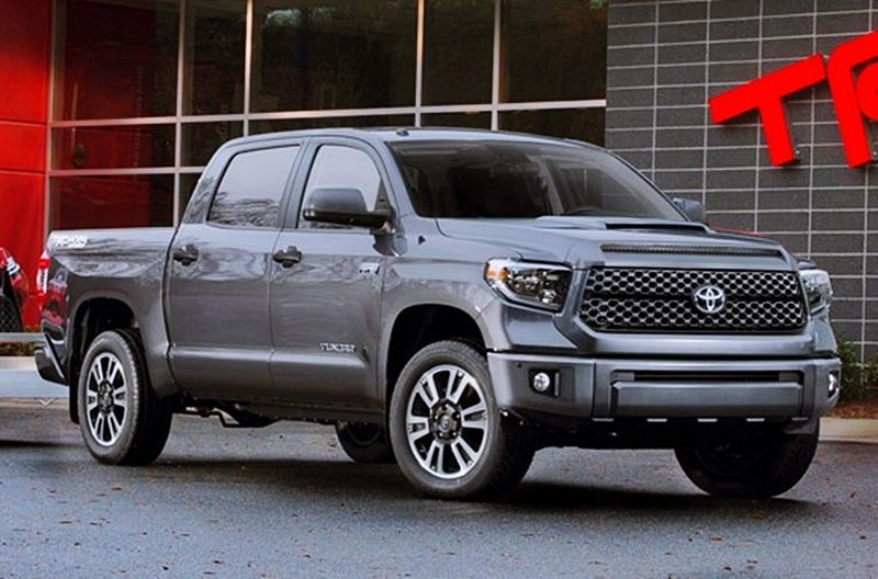 2018 Toyota Tundra Model Truck Changes While Not As Severe As The Tundra Trd Pro Tundra Trd Toyota Tundra Trd Toyota Tundra
