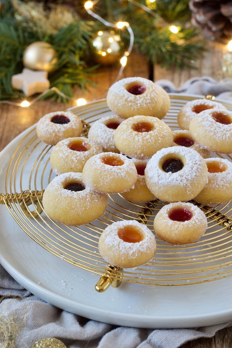 Engelsaugen - Husarenkrapfen - Rezept - Sweets & Lifestyle® #dinnerideas2019