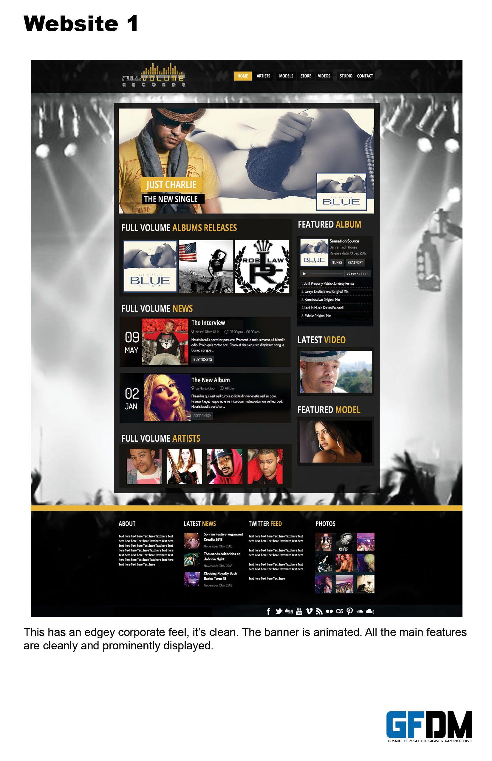 NEW WEBSITE WWW.FULLVOLUMERECORDS.COM