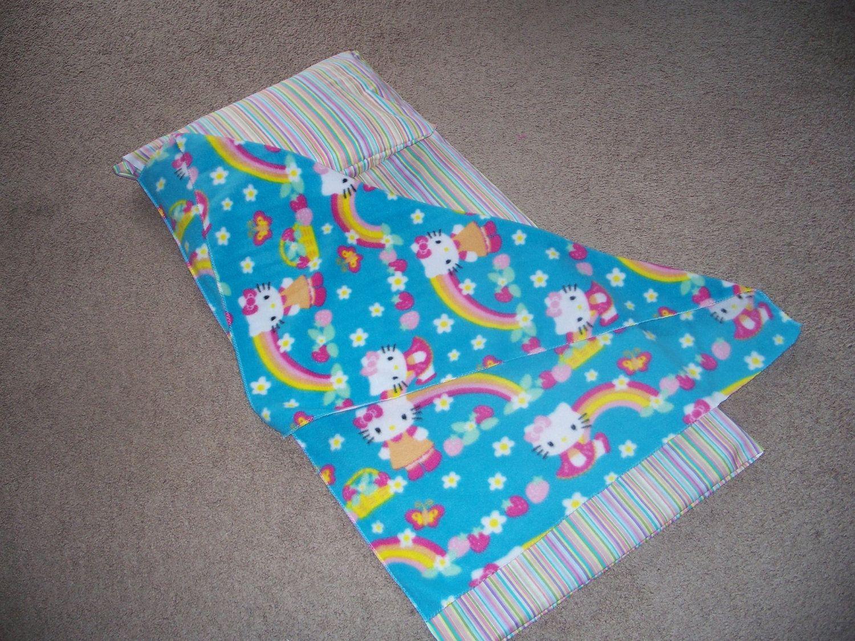 Hello Kitty Kindergarten Nap Mat Cover Pillow And Blanket