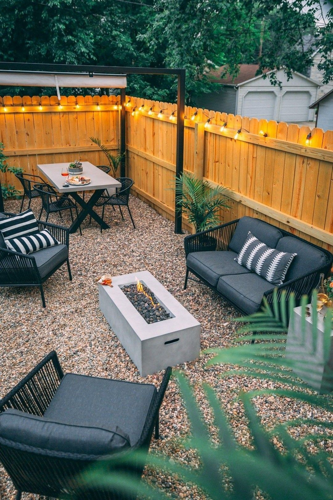 Pin by Nicola Saner on Backyard | Backyard makeover, Small ...