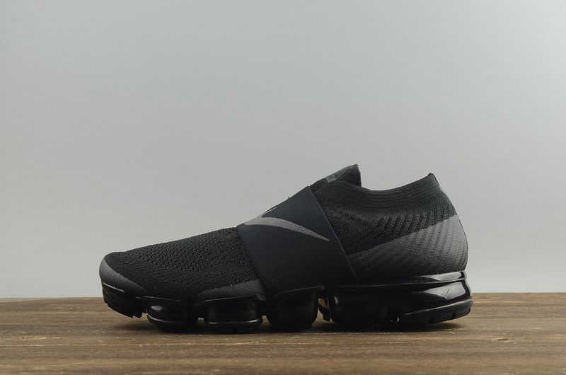 76d5c7c5168 Nike Air VaporMax Moc Triple Noir 2018 Spring Summer Running AH3397-004 Hot  Sale