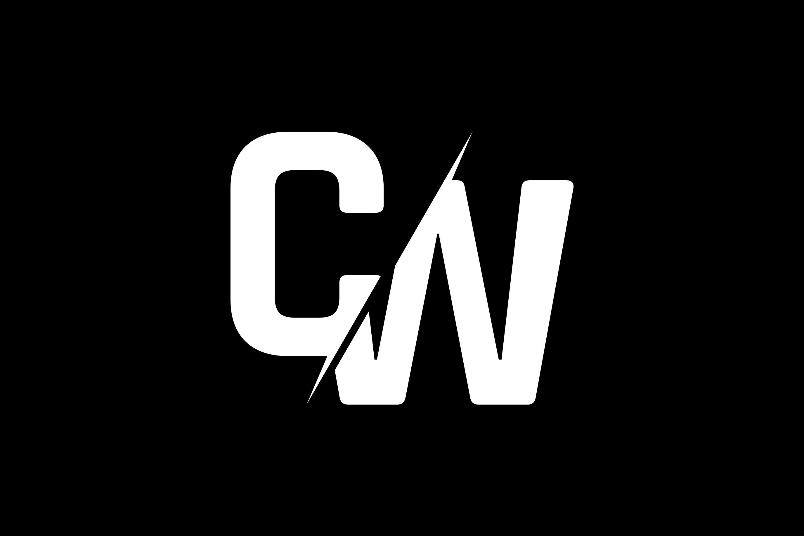 Monogram Cw Logo Graphic By Greenlines Studios Creative Fabrica Logo Design Graphic Design Logo Garage Logo