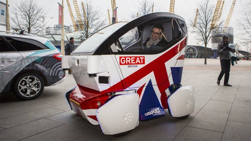 The Lutz Pathfinder Pod Is The Uk S First Driverless Car W Video