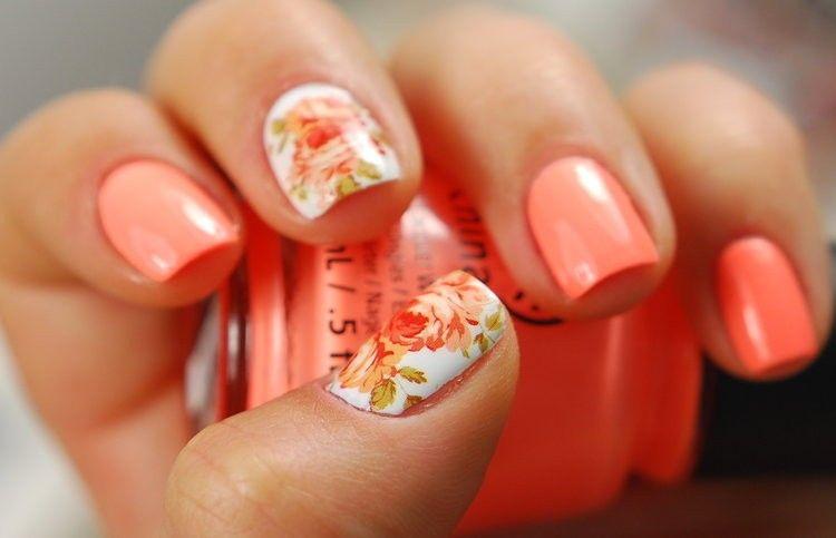 Peach Color Nail Designs - Peach Color Nail Designs Graham Reid