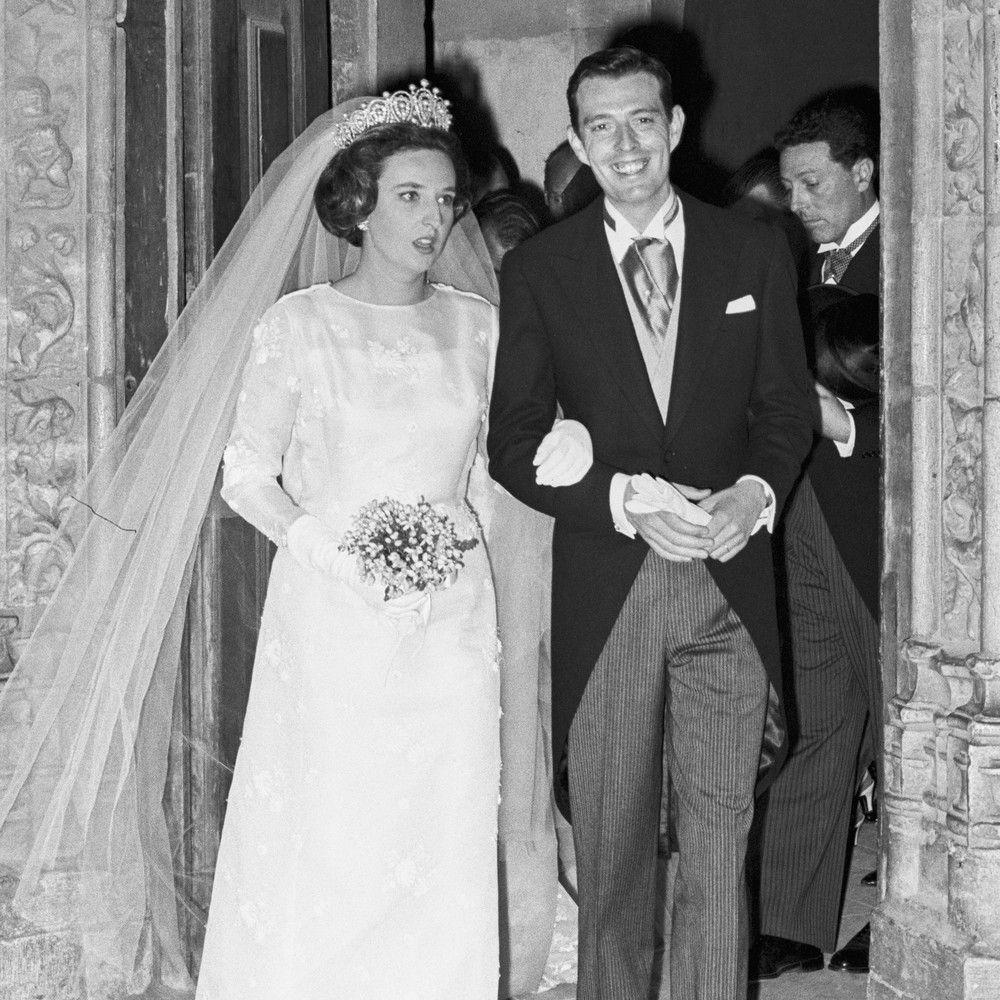 Su Boda Con Luis Gómez Acebo En 1967 Vestidos De Novia Boda Boda De Día