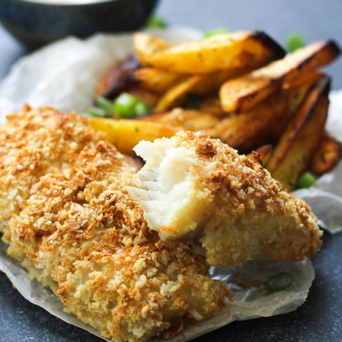 Air fryer fish and chips Air fryer fish, Air fryer fish