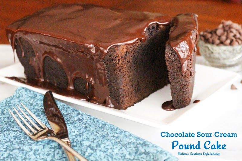 Chocolate sour cream pound cake there are certain