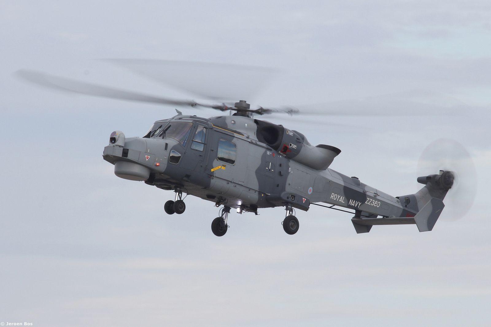 Wildcat hma royal navy zz during the malta international airshow