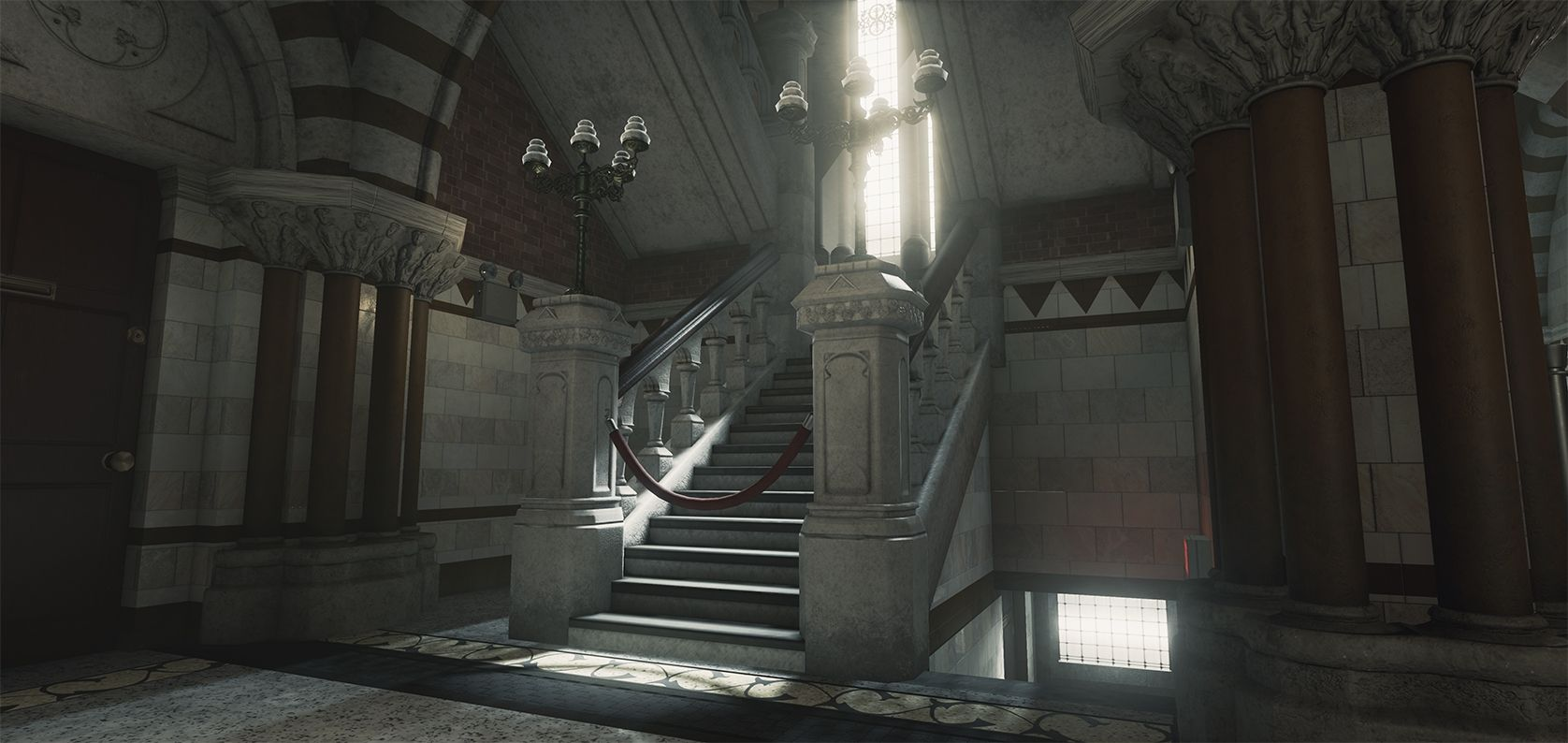 [UE4] Victorian Hall WIP - polycount