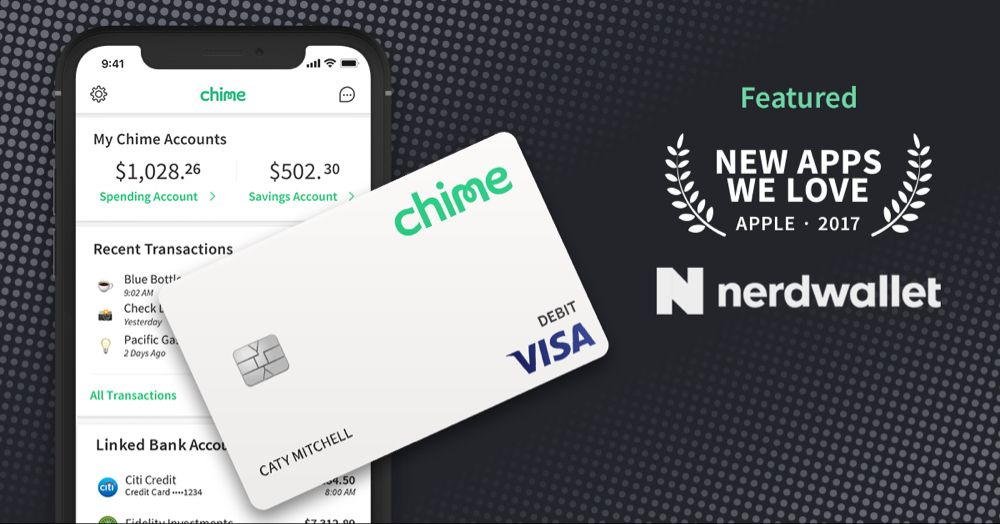 Chime banking banking app bank fees money