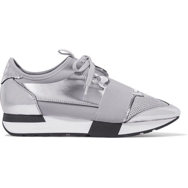 balenciaga trainers silver Balenciaga
