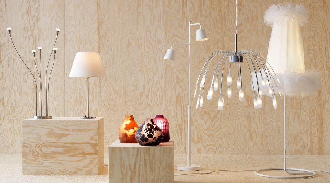 ikea sterreich verschiedene led leuchten und schirme u. Black Bedroom Furniture Sets. Home Design Ideas