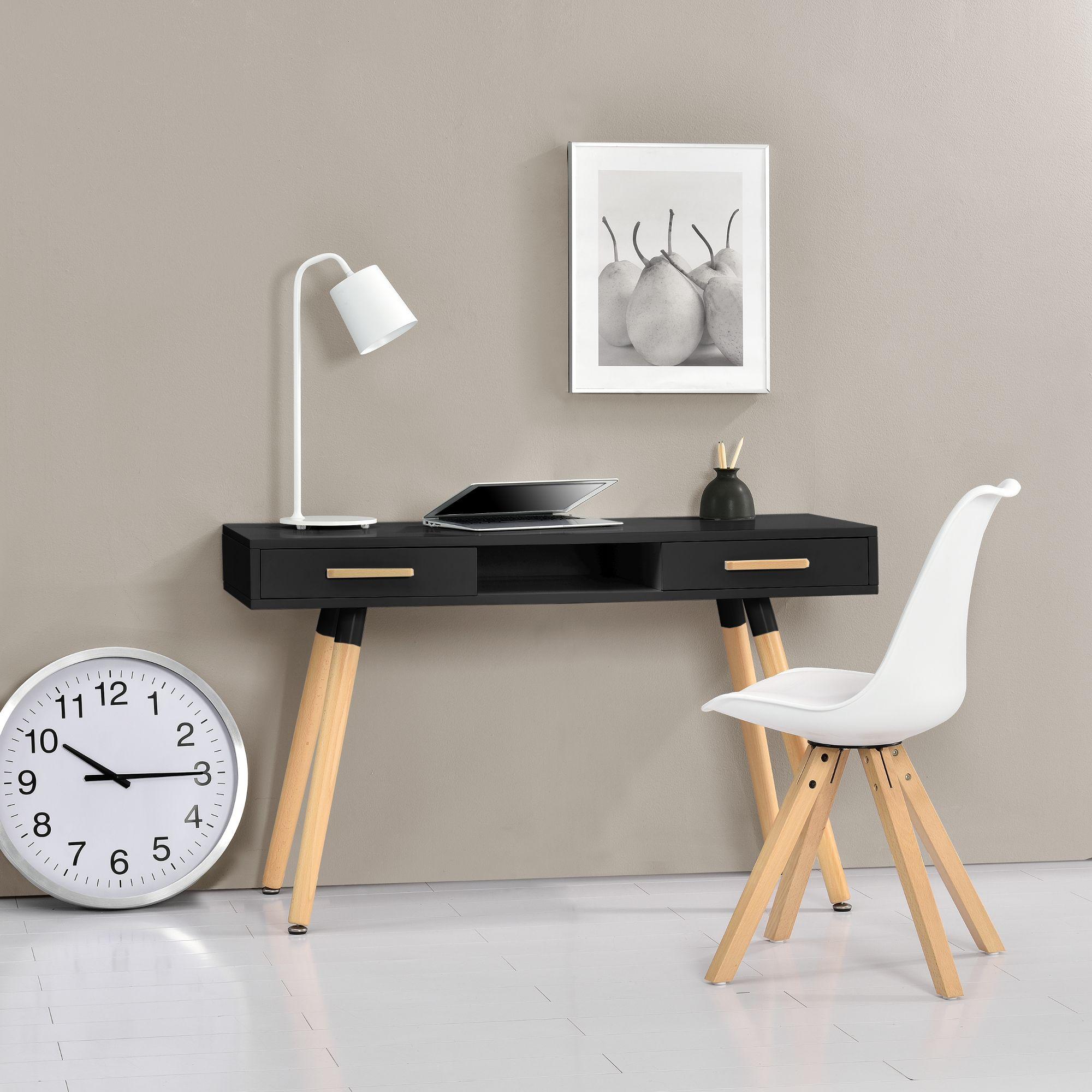 [en.casa]® Office Desk And Chair