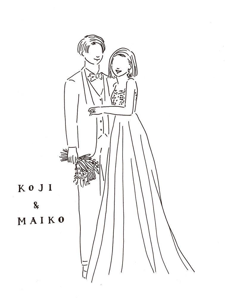 Illustration Wedding Illustration Illustrator Girl Wedding Bridal Art Welcomeboard 結婚 結婚式 イラスト イラストレーター 女の子 オシャレ 結婚 イラスト イラスト 手書き ウェルカムボード イラスト