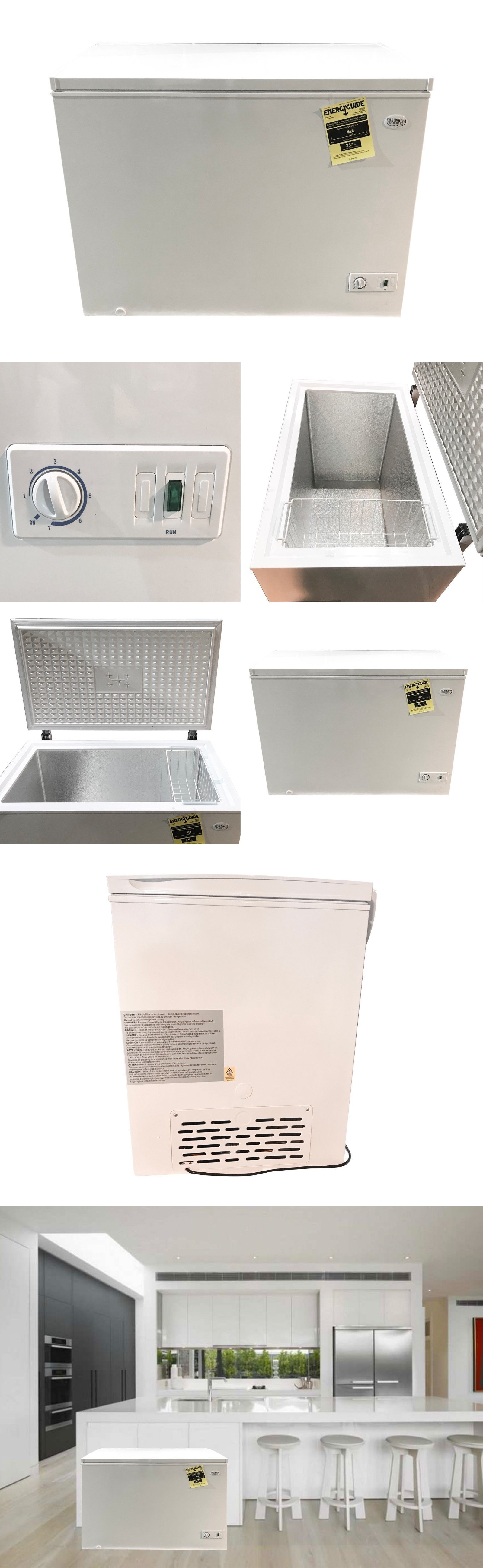 Upright And Chest Freezers 71260 Kool Water Solutions 10 Cu Ft