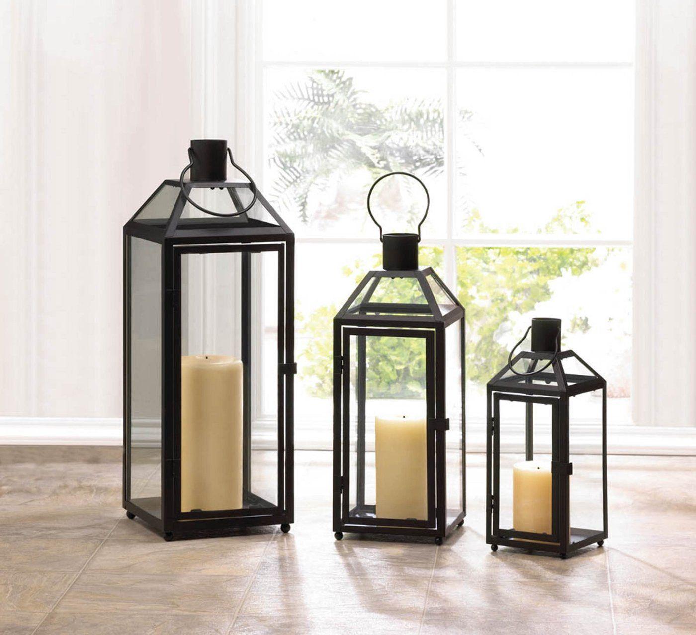 Jackson Metal Lantern Magnolia Lantern Decor Living Home Decor Vases Floor Lanterns
