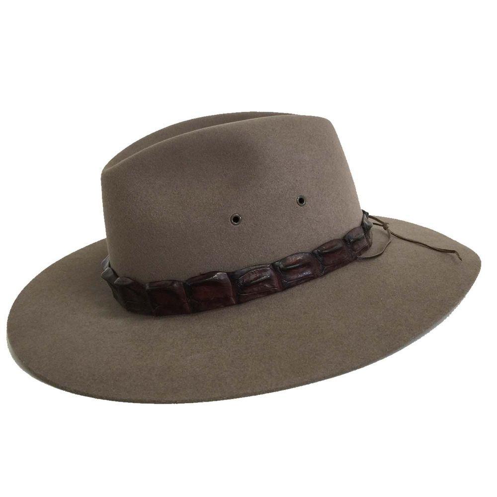 44657f1ed41 eBay  Sponsored Akubra Genuine Coolabah Traditional Australian Made Bush  Cowboy Hat Size 51-65cm