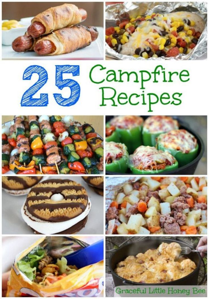 Photo of 25 Campfire Recipes – Graceful Little Honey Bee