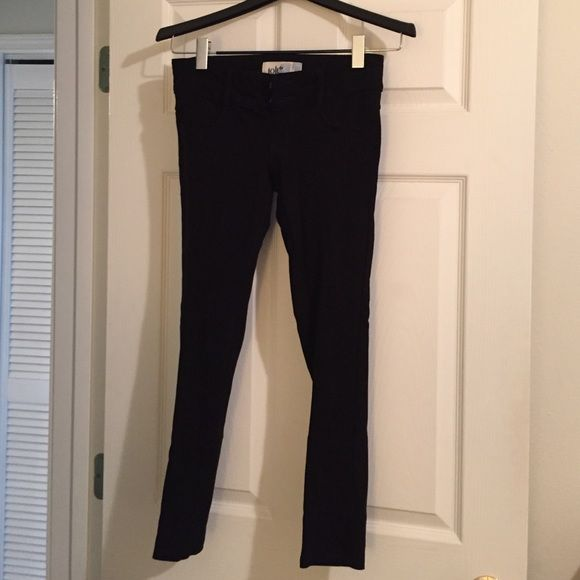 a595b044c62ae Jolt Jeggings! Black Jolt jeggings - cotton/spandex comfortable feel!  Double button closure