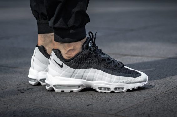 e54aa7897799 The Nike Air Max 95 Ultra Essential Arrives In Black White