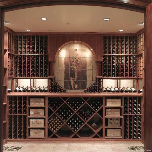 Gallagher Kitchen: Gallagher Custom Wine Cellar