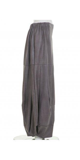 27f89d24e00a Turbulence Grey Faux Leather Balloon Trouser