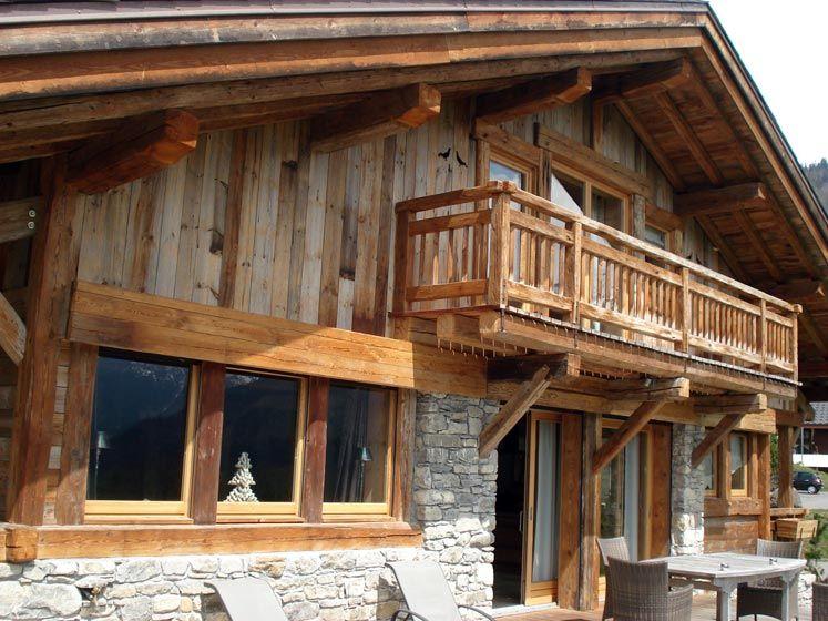 Gatto charpente chalets et menuiserie en haute savoie 74 - Photo interieur chalet montagne ...