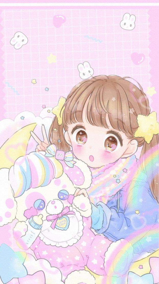 Art by manamoko マイメロ 壁紙, 綺麗な絵, かわいいイラスト