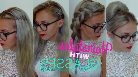 Cute Hairstyles For Girls With Glasses Trends Hair Styles People With Glasses Hairstyles With Glasses