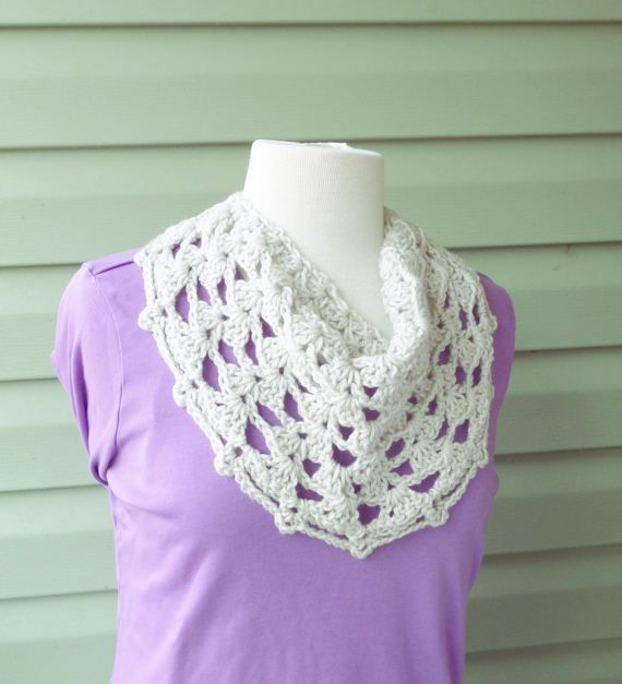 PATTERN C-029 / Crochet Pattern / Catalina Cowl - worsted 90 yards ...