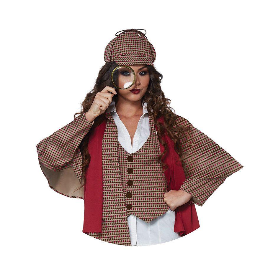 Deer Stalker Hat Theater Costume Sherlock Holmes Murder Mystery Birthday Party