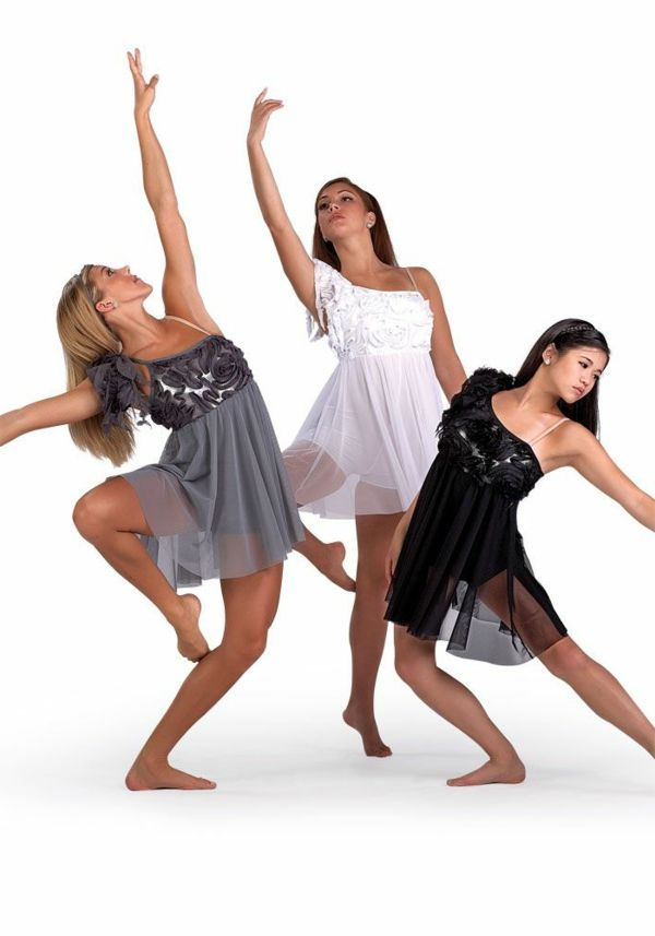 276793090ca La tenue de danse moderne en 58 photos
