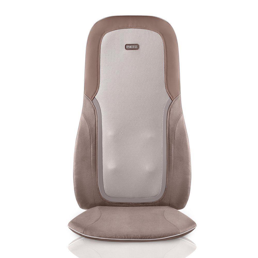 Homedics Quad Shiatsu Pro Massage Cushion With Heat Zone Control Targeted Spot Full Lower Amp Upper Back 3 Shoulder Massage Feet Roller Massage Roller