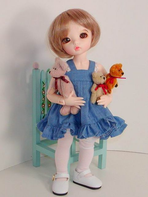 Beary Busy! by Sweet Creations Doll Fashions, via Flickr