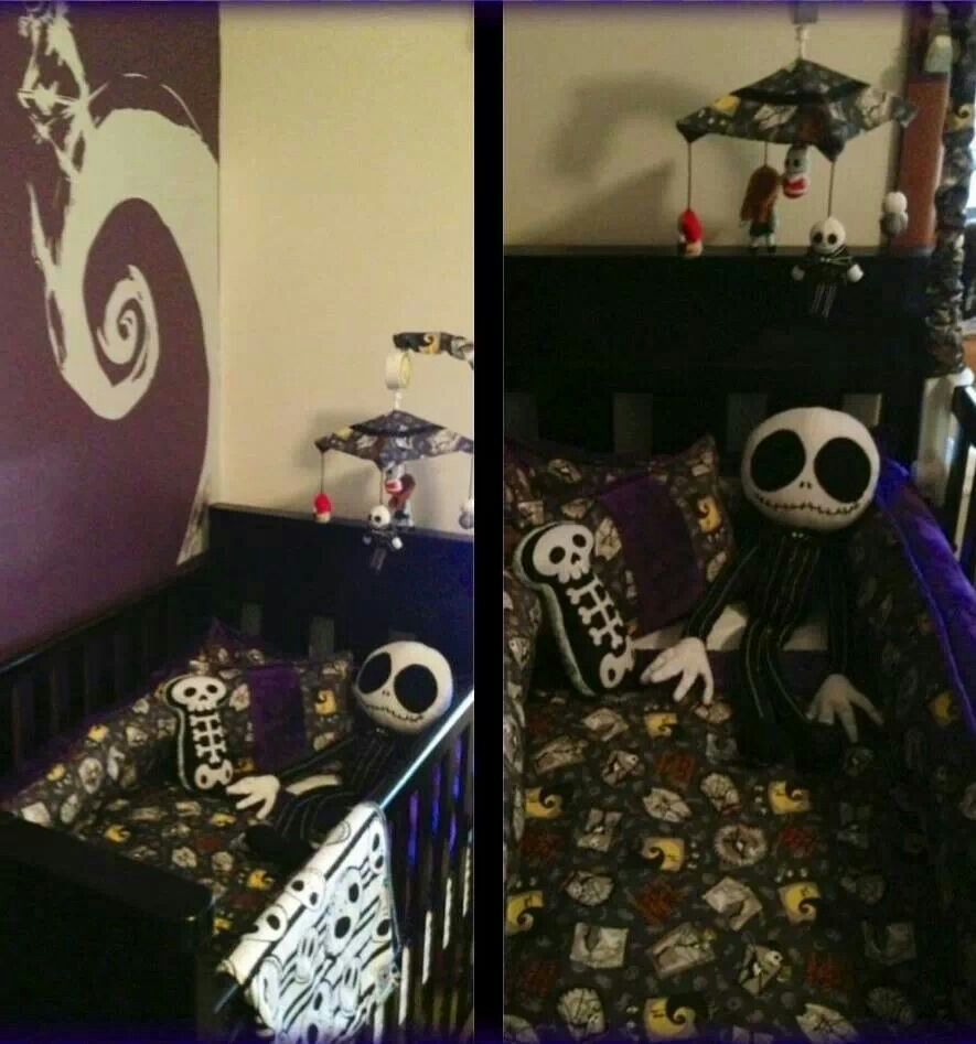 Nightmare before christmas baby room!!!!