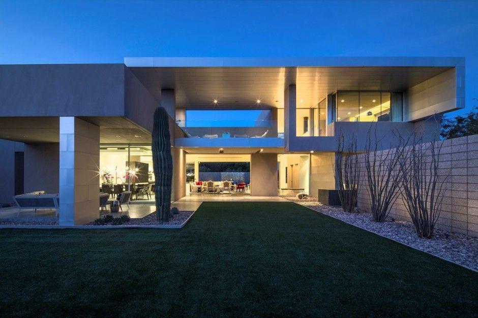 Villa Contemporaine En Arizona. | Arizona, Scottsdale En Arizona Et