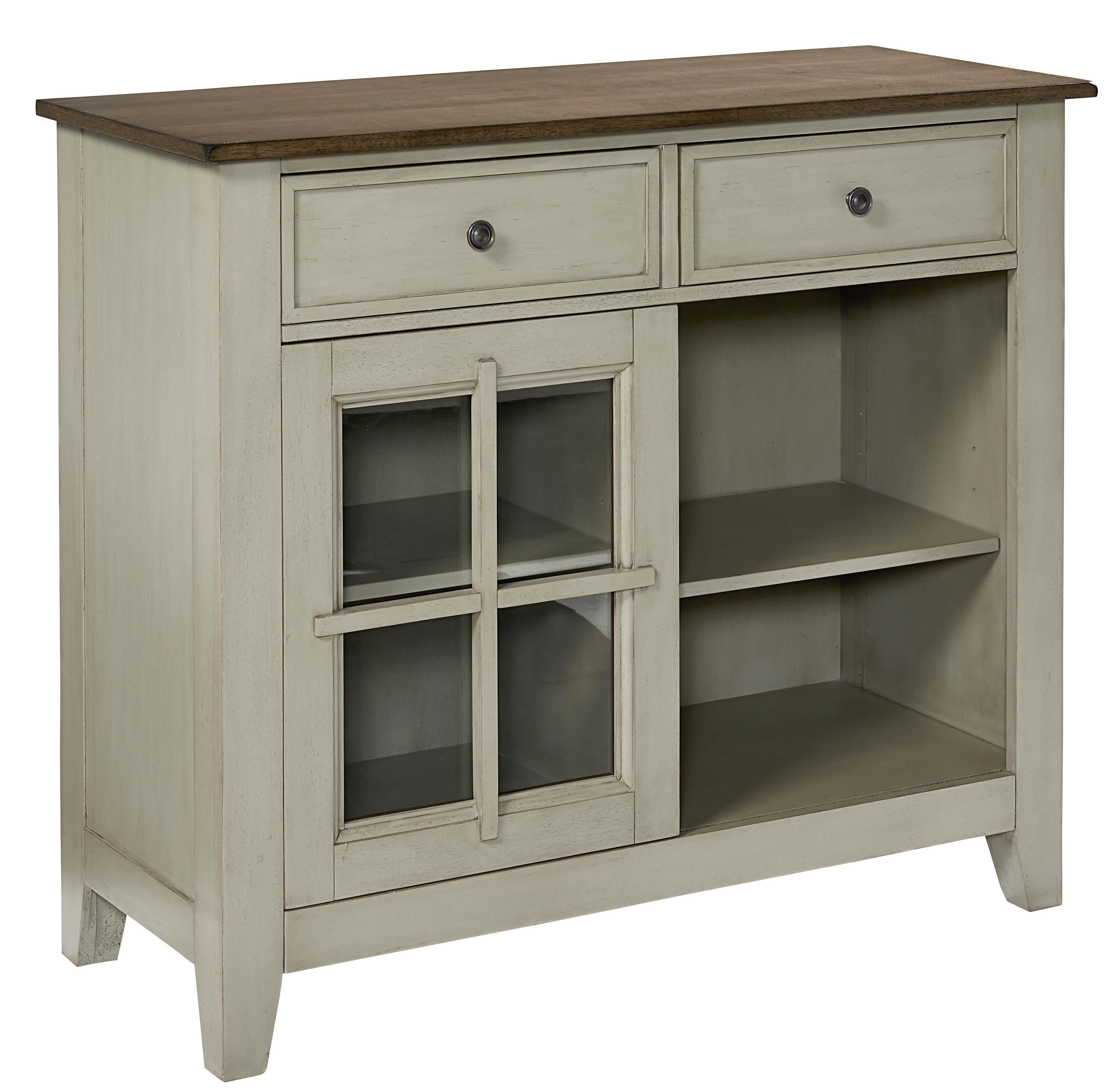 Pendleton sage sideboard by standard furniture 39800