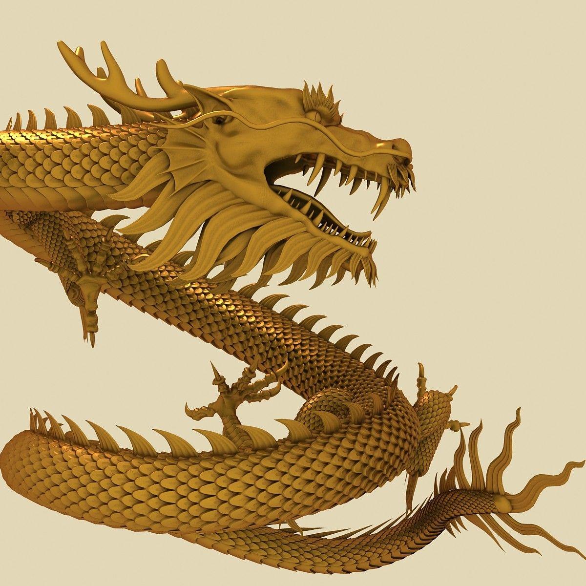 Pin by Ida Shenko on 3D Chinese dragon, Dragon, 3d model