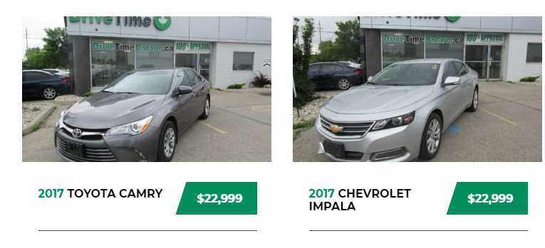 Used Car Dealers London >> Drive Time Ontario One Of The Most Used Car Dealer In London