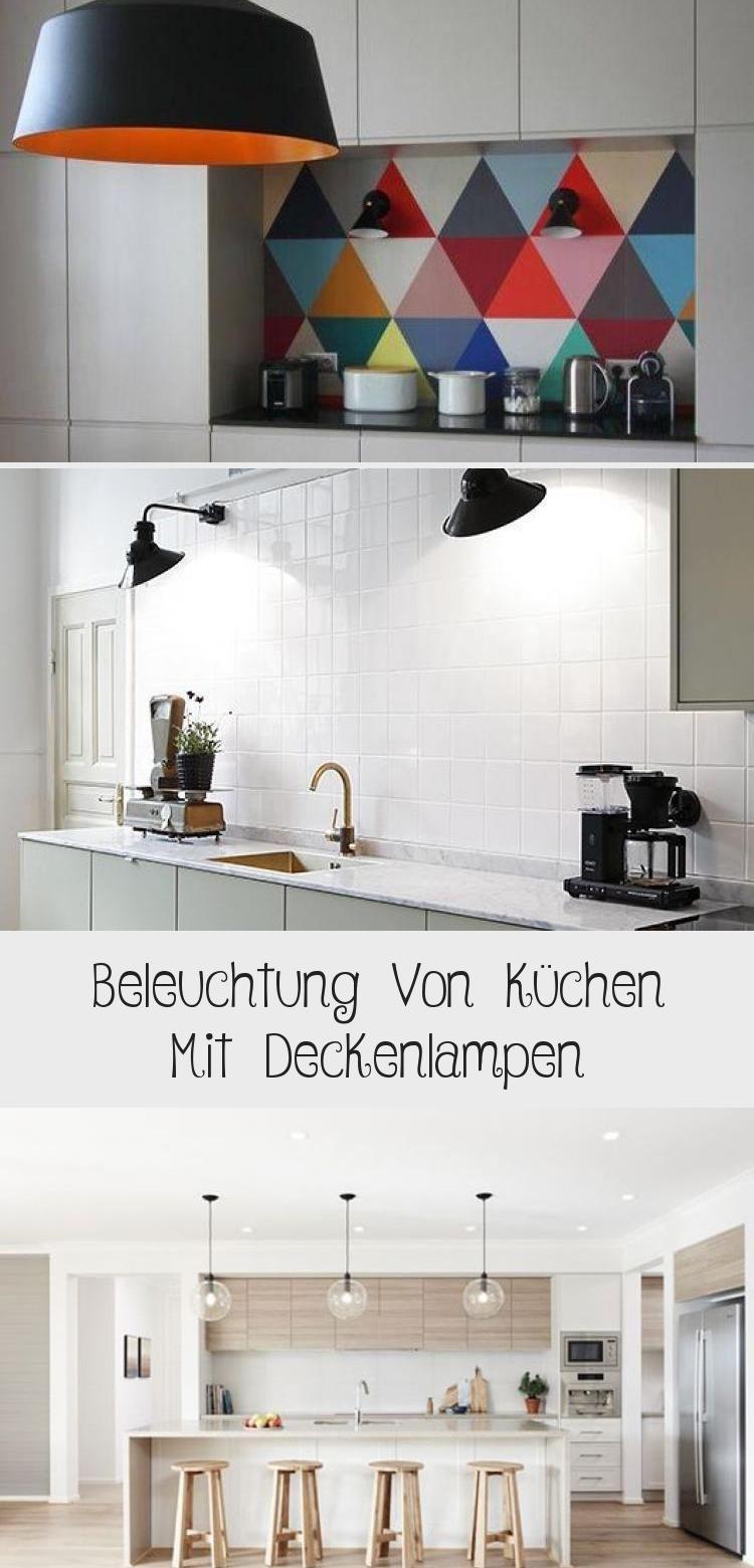 von küchen mit deckenleuchten – dekoration in 2020
