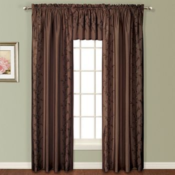 United Curtain Co Addison Embroidered Window Treatments