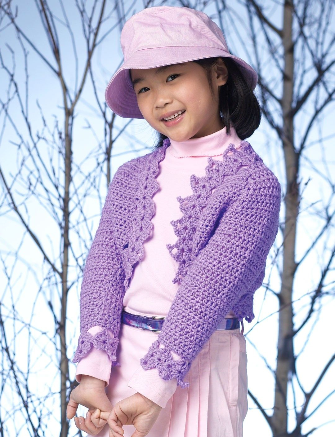 Yarnspirations.com - Patons Crochet Bolero - Patterns ...