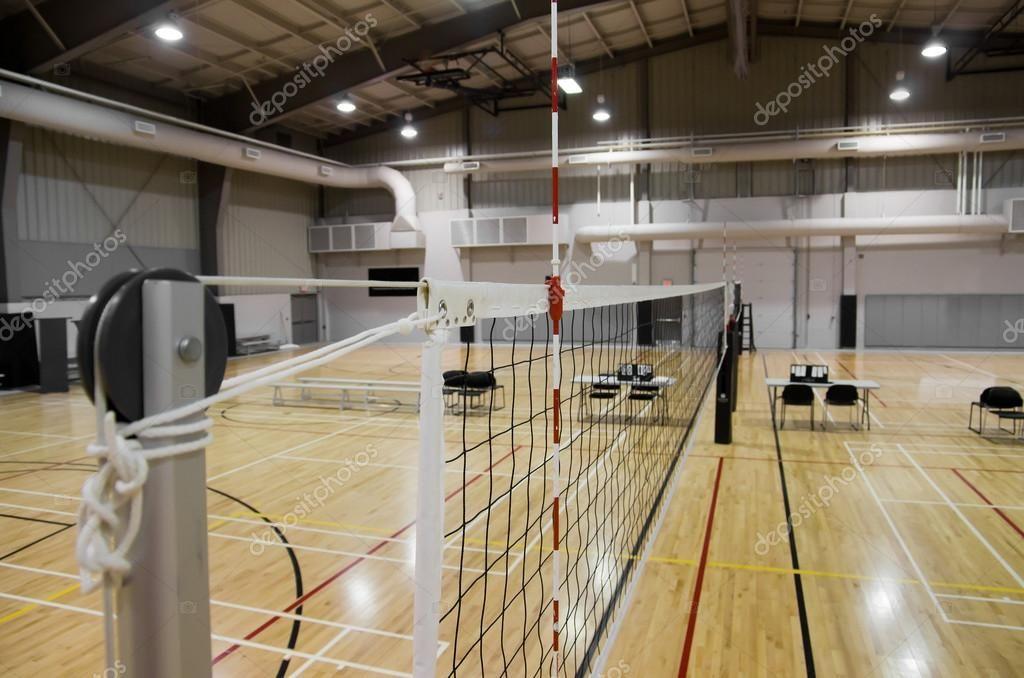 Indoor Volleyball Court Stock Photo Aff Volleyball Indoor Court Photo Ad Indoor Volleyball Volleyball Indoor