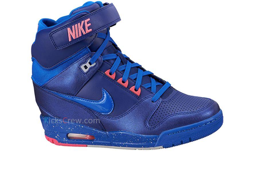 3365b3d6323 Free Shipping Only 69  Nike Wmns Air Revolution Sky Hi Royal Blue Pink Glow  599410 401