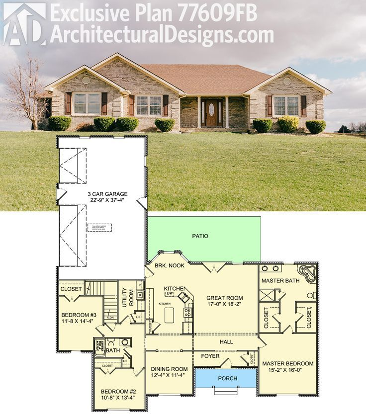 1800 Sq Ft House Plans with No Wasted Space 1800 Square