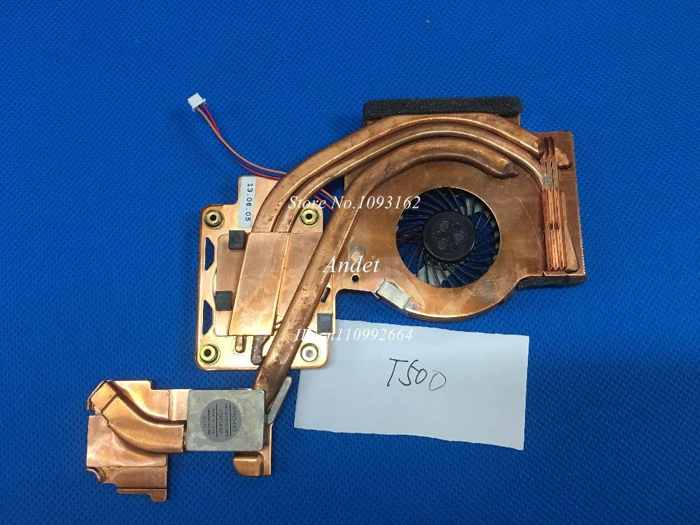 LENOVO THINKPAD T500 W500 CPU COOLING FAN HEATSINK 45N5493 45N5492