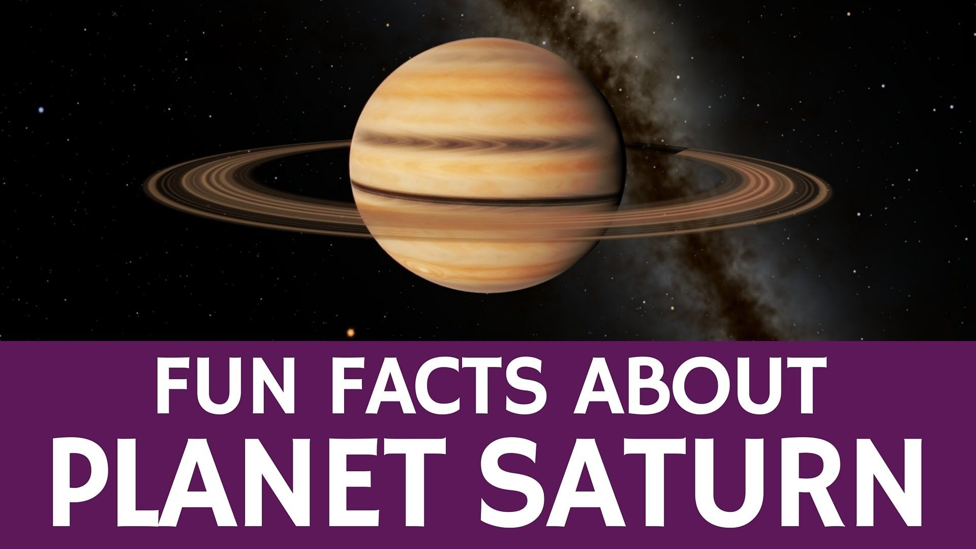 Interesting Saturn Facts For Kids Educational Astronomy